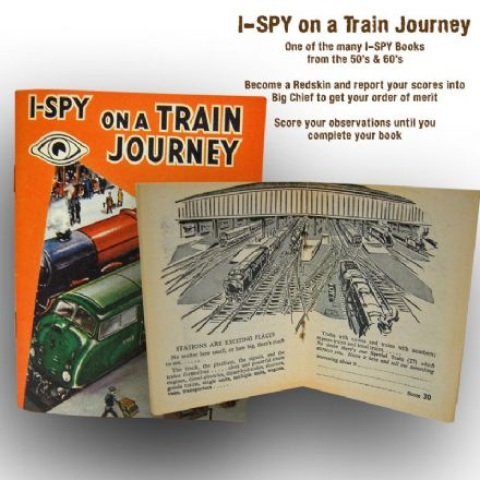 I-SPY on a Train Journey (48 Page Booklet)